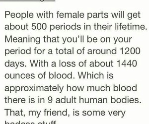 blood, girls, and periods image