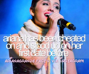 tumblr, ariana, and facts image
