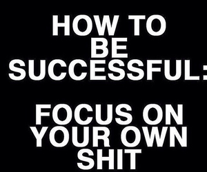 focus, shit, and quote image