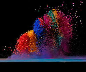 colors and explosion image