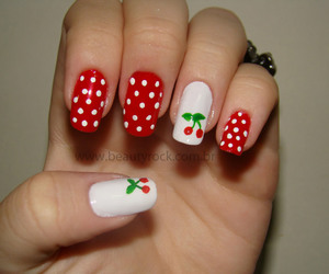 nails and cherry image