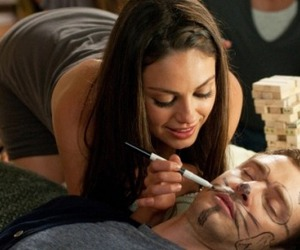 justin timberlake, friends with benefits, and Mila Kunis image