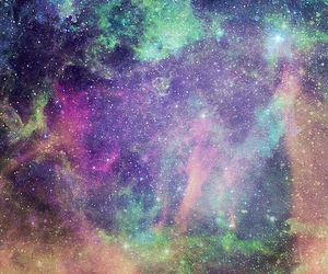 colors, galaxy, and sky image