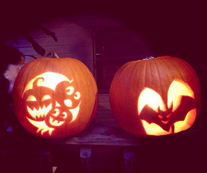 Halloween, pumpkin, and carving image