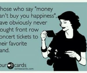 band, money, and happiness image