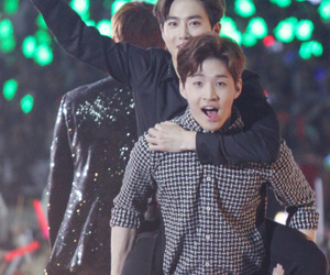 exo, henry, and suho image