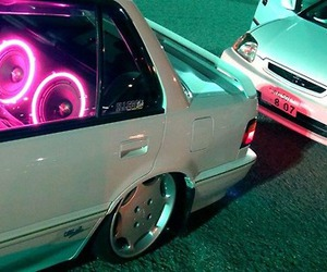 car, neon, and glow image