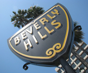 Beverly Hills, city, and sign image