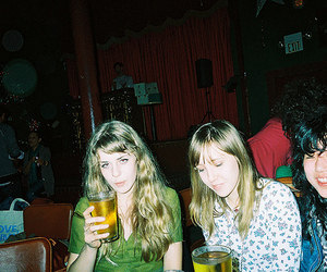 beer, drink, and girls image