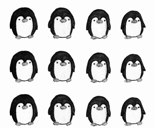 wallpaper, penguin, and background image