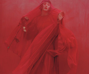 red, photography, and tim walker image