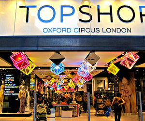 topshop, london, and clothes image