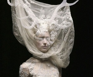 Alexander McQueen, fashion, and lace image