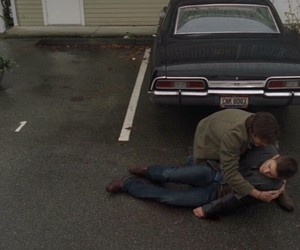 ackles, crying, and death image