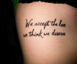 tattoo, love, and quote image