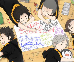 haikyuu, anime, and ハイキュー image