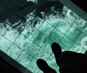 grunge, sea, and ocean image