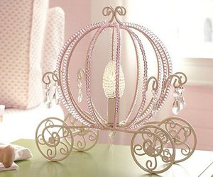 pink, cinderella, and carriage image