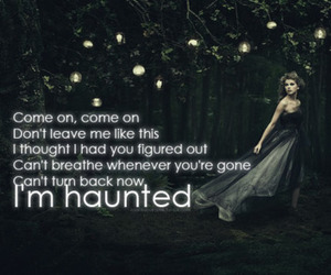 Taylor Swift and haunted image
