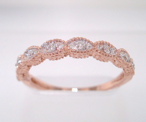 rose gold, accessories, and diamonds image