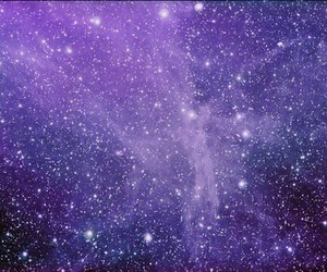 stars, galaxy, and purple image