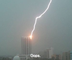 lightning, oops, and cute image