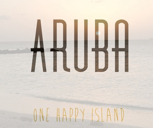 aruba and one happy island image