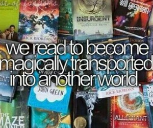 books, magic, and world image