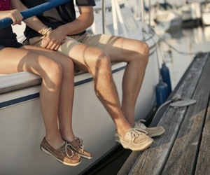 boat, outfit, and fashion image