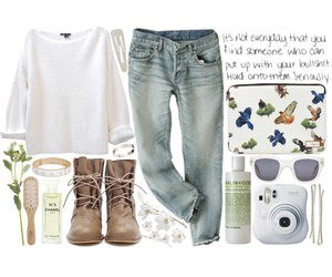 girl, Polyvore, and fashion image