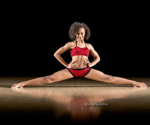 dance, fitness, and sharkcookie image