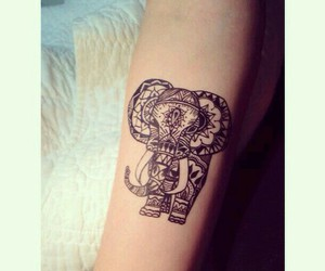 elephant arm tattoo image