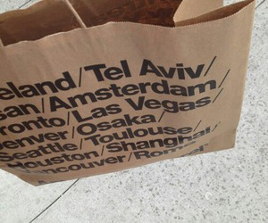 bag, american apparel, and shopping image