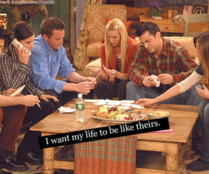 friends, life, and tv show image