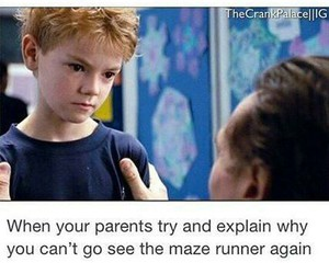 newt, movie, and thomas sangster image