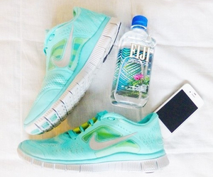 fitness, nike, and iphone image