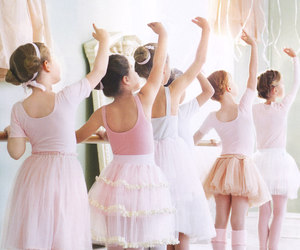 girl, ballet, and ballerina image