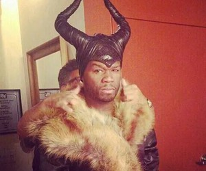 50 cent, maleficent, and funny image