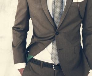 fashion, suit, and men image