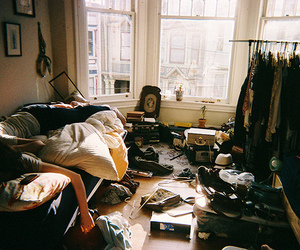room, mess, and messy image