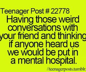 best friends and teenager post image