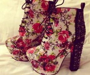 floral and pretty image