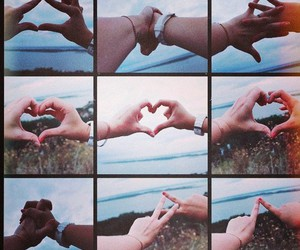 hands, love, and volga image