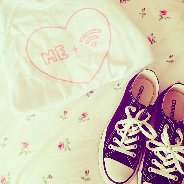 converse, heart, and me image