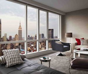 new york, city, and apartment image