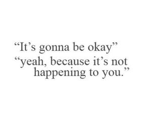 quotes, okay, and sad image