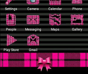 icons, pink, and fb icon image