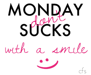 monday, quotes, and smile image