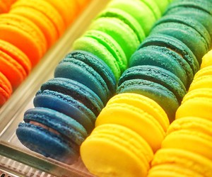 colorful, food, and french image