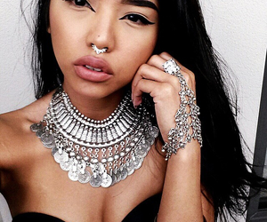 septum, beauty, and eyebrows image
